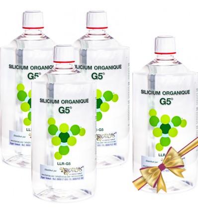 G5 Silicium 1L PACK 3+1